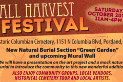 Free: Fall Harvest Festival Historic Columbian Cemetery