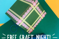 Free: collage FREE crafting night - NoPo Atlas Pizza