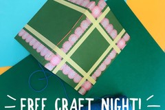 Free: collage FREE craft night - Atlas Pizza Division