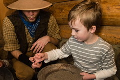 Selling: Mining Day at the High Desert Museum