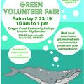 Free: Mid Coast Green Volunteer Fair in Lincoln City