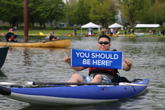 Free: 27th Annual Spring Paddle Festival,  April 27-28