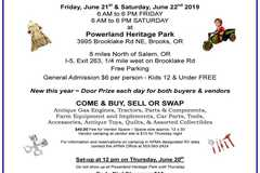 Selling: 39th Annual Swap Meet