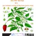 Selling: Able Farms PDX & Fausse Piste & Flat Brim Wines Dinner