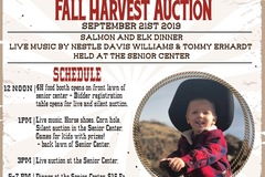 Free: Monument Buckaroo Festival & Harvest Auction