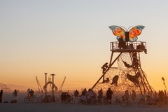 Varies/Learn More: Exhibition Opening: Infinite Moment: Burning Man on the Horizon
