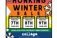 Free: collage Huge Honking Winter Sale!