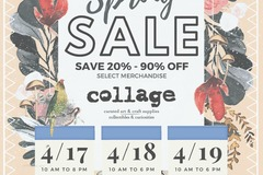 Free: collage Huge Honking Spring Sale