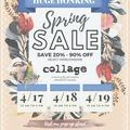 Free: collage Huge Honking Spring Sale