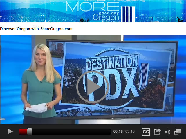 ShareOregon on Fox12 News