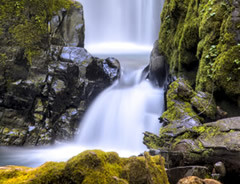 North Umpqua Wild and Scenic River Waterfall