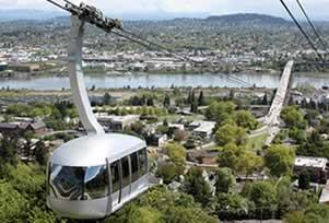 Portland City Tour with Aerial Tram Ride