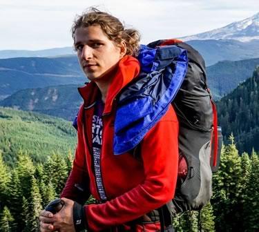 Dominic Kukla enjoying the Oregon outdoors near Mt. Hood